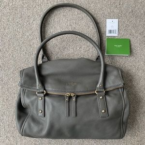 Kate Spade Leslie Handbag color storm